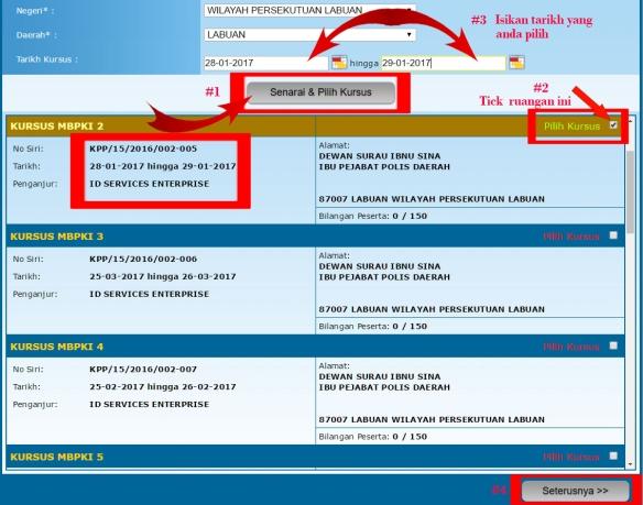 Contoh Borang Nikah Online